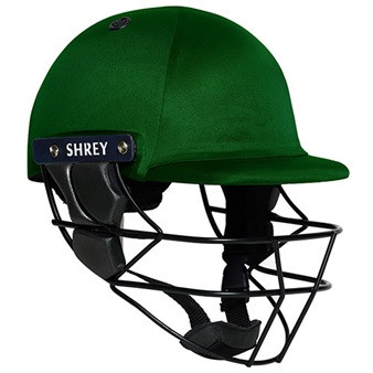 Shrey Armour Cricket Helmet - Green Image