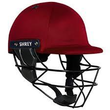 Shrey Armour Cricket Helmet - Red Image