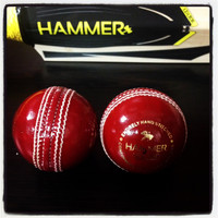 Hammer Core Red Cricket Ball - Junior Size 4 3/4 OZ