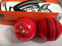 Hammer LE Pink Cricket Ball