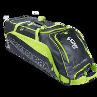 Kookaburra Pro Player Wheelie Bag - Grn/Blk 2018