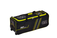 GM 707 Wheelie Cricket Kit Bag - Blk/Yellow 2018