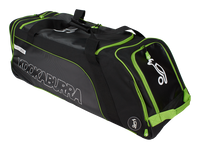 Kookaburra Pro 2750 Wheelie Bag - Blk/Grn 2018