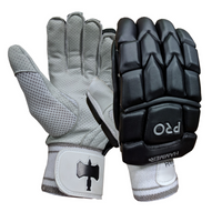 Hammer Pro Cricket Batting Gloves - Black 2018