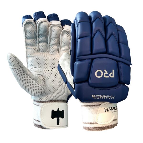 Hammer Pro Batting Gloves - Navy 2018 image 1
