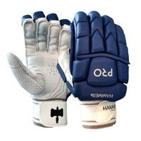 Hammer Pro Batting Gloves - Navy 2018 image 1