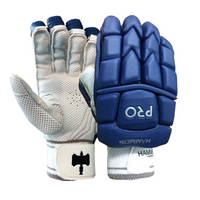 Hammer Pro cricket Batting Gloves - Royal Blue 2018