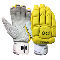 Hammer Pro Batting Gloves - Royal Yellow 2018 image 1