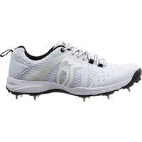 Kookaburra KCS 2000 Spike Shoes -White 2018
