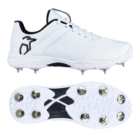 Kookaburra KCS 3.0 Spike Shoes - White 2019