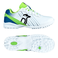 Kookaburra KCS 5.0 Rubber Shoes - Lime 2019