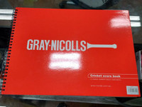 Gray Nicolls 80 inn  Score Book