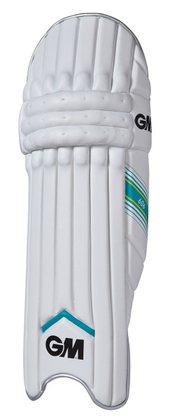 The GM 606 batting pad features High Density Foam in the front to reduce weight.