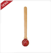 CA Bat Mallet with Leather Ball
