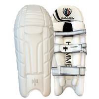 Hammer Pro batting pads are ultra light, with no lack of quality, strength, and durability.
