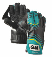 Top of the line wicket keeper gloves from GM cricket