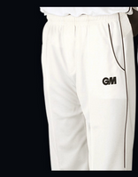 GM Cricket Teknik Trouser Blue trim