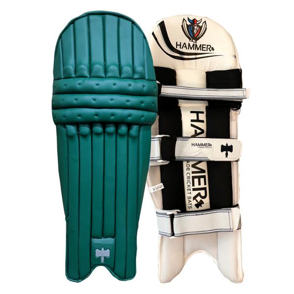 Hammer Core T20 cricket Batting Pads 2018 dark green