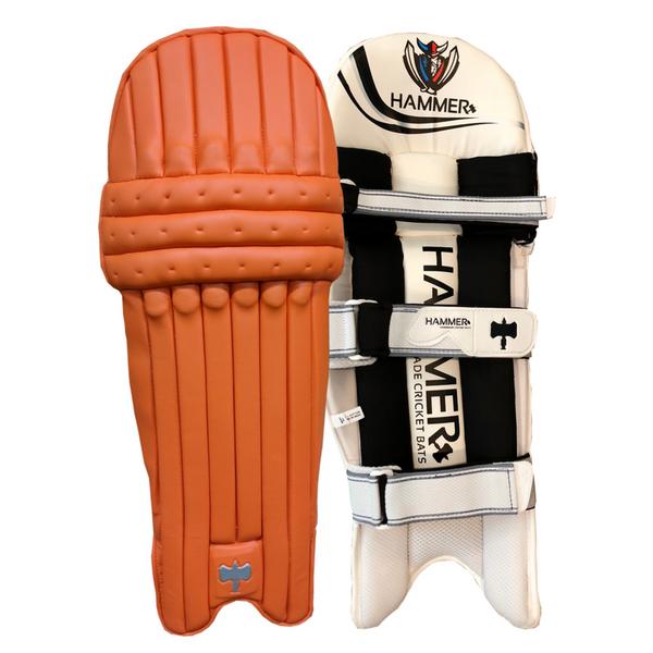 Hammer Core T20 cricket Batting Pads 2018 Orange