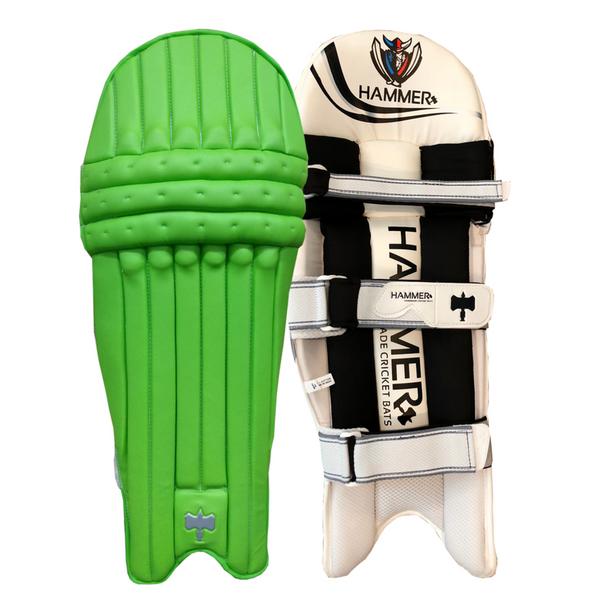 Hammer Core T20 cricket Batting Pads 2018 Light green