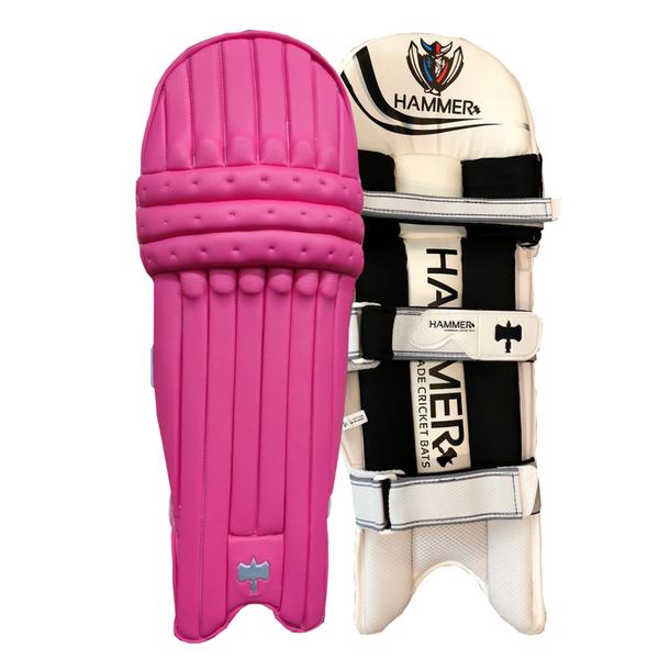 Hammer Core T20 cricket Batting Pads 2018 Pink