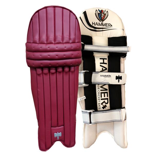 Hammer Core T20 cricket Batting Pads 2018 Maroon