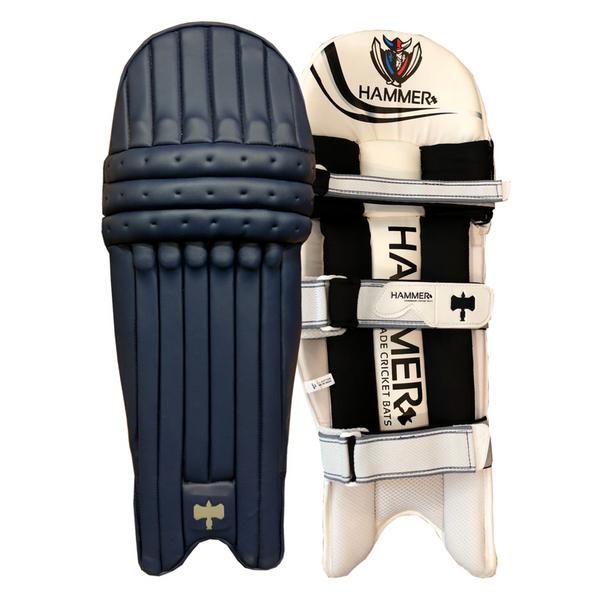 Hammer Core T20 cricket Batting Pads 2018 Navy Blue