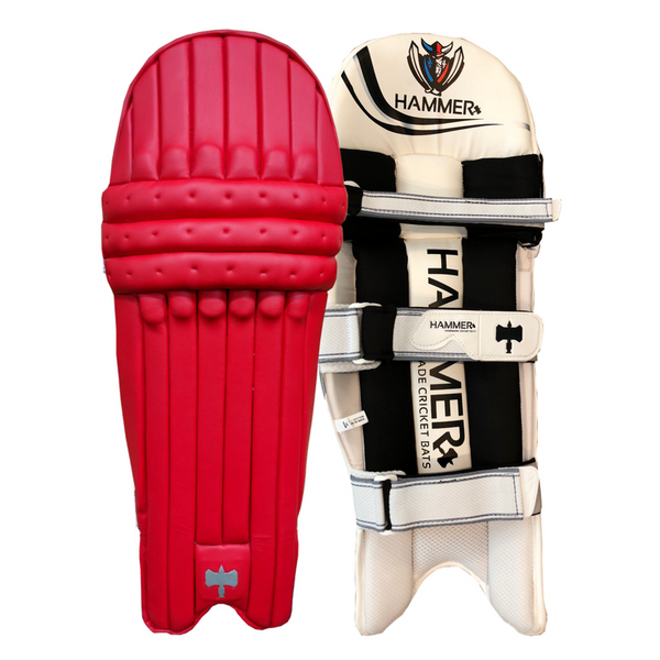Hammer Core T20 cricket Batting Pads 2018 Red