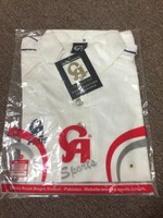 CA Sports tech off white cricket shirt ( M )