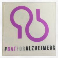 #BATFORALZHEIMERS sticker set