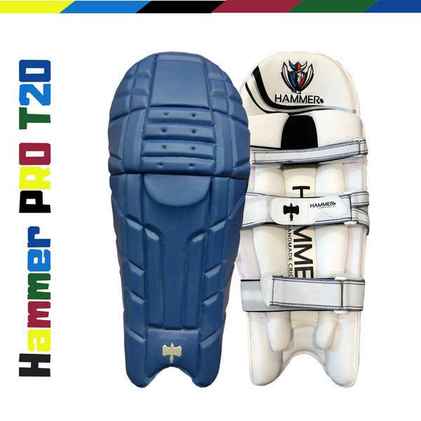 Hammer Pro T20 Cricket Batting Pads 2018 royal blue
