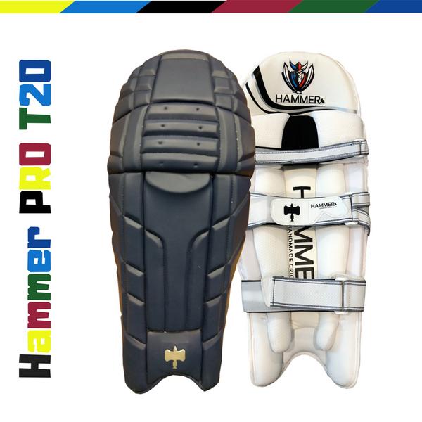 Hammer Pro T20 Cricket Batting Pads 2018 Navy Blue