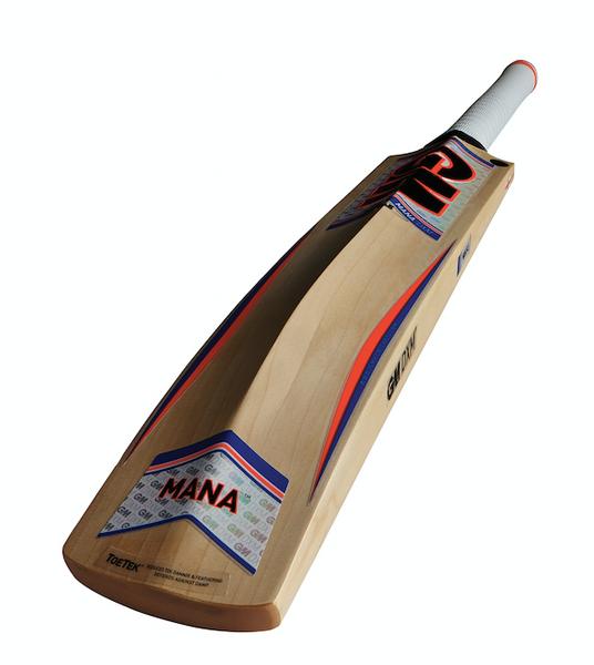 GM mana 2016 cricket bat rear profile