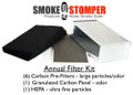 HOME UNIT - Smoke Stomper - Annual Filter Kit