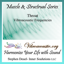 Throat Muscles VAT Frequencies