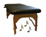 InnerSoul Folding Sound Massage Vibroacoustic Table