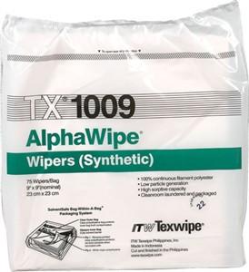 "Texwipe TX1009 AlphaWipe Double Knit Polyester 9""x9"""