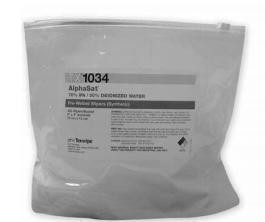 "Texwipe TX1034 AlphaSat Polyester 70% IPA 4""x4"""