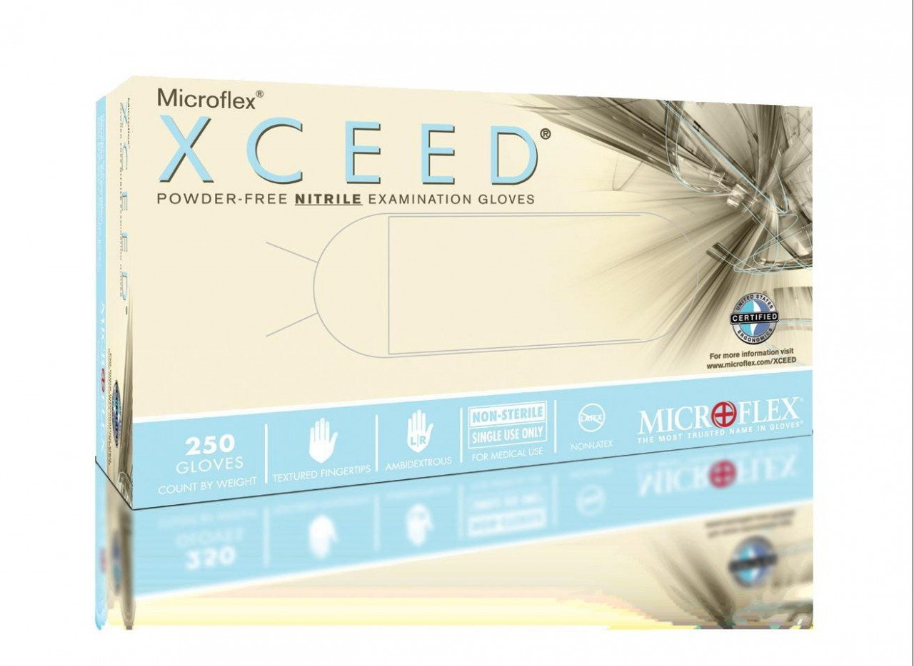 Microflex® XC-310 XCEED Nitrile Powder Free Exam Glove