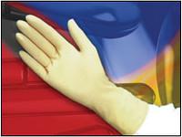 CT International PFXT100 Latex Cleanroom Gloves