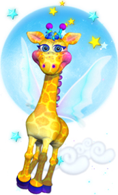 Speckles the Giraffe