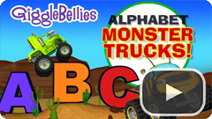 Monster Truck ABCs