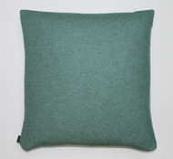 Wool Cushion - Duck Egg Blue Sustainable Wool - 50cm x 50cm