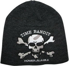Time Bandit Crew Hat Knit Jolly Roger