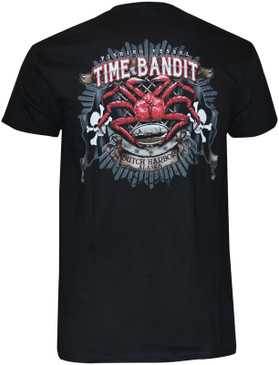 Time Bandit King Crab Flag T Shirt