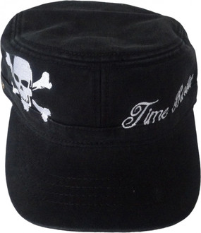 Time Bandit Cadet Hat Black With White Embroidery