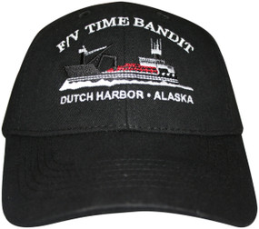 F/V Time Bandit Black Hat - Front View