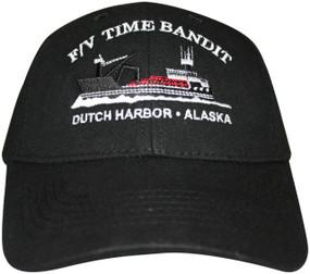F/V Time Bandit Black Hat - Front View