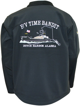 F/V Time Bandit Men's Light Weight Granyte Jacket- Size Small only