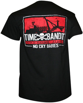 Time Bandit NO CRY BABIES! T-shirt